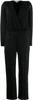 Patrizia Pepe long-sleeved wrap-style jumpsuit