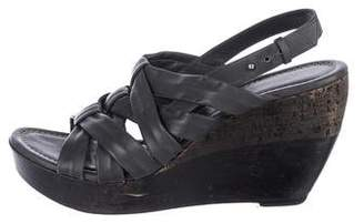 CNC Costume National Platform Wedge Sandals