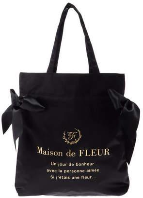 Maison de Fleur (メゾン ド フルール) - Maison de FLEUR ダブルリボントートバッグ