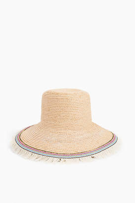 Hat Attack Raffia Braid Lampshade Hat