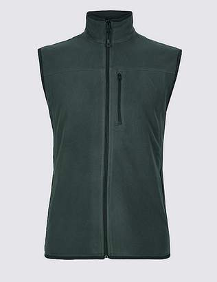 Marks and Spencer Fleece Gilet with StayNEWTM