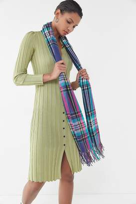 Urban Outfitters Bright Plaid Scarf