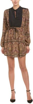 BCBGeneration Zen Paisley A-Line Dress