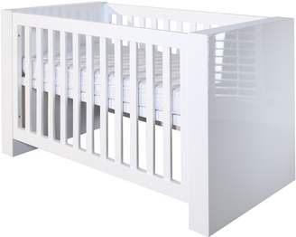 House of Fraser Kidsmill Somero White Glossy Cot bed 70 x 140