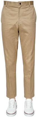 Thom Browne LIGHT COTTON TWILL CHINO PANTS