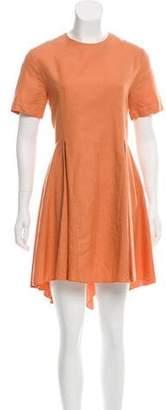 Hache Linen A-Line Dress