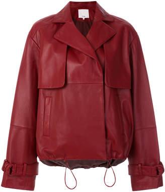 Tibi moto jacket