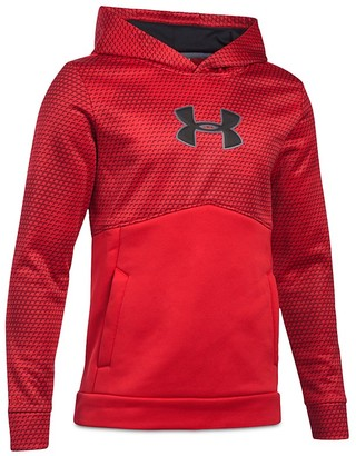 Under Armour Boys' Print & Solid Hoodie - Big Kid $54.99 thestylecure.com