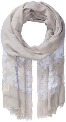 Collection XIIX Sparkling Floral Wrap Scarves