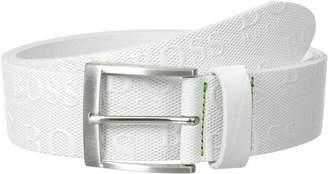 BOSS GREEN BOSWY Men's Torialo Printed Boss Logo Belt