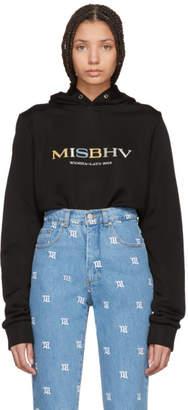 Misbhv Black Souvenir Hoodie