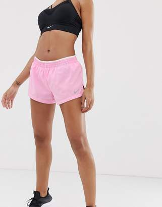 Nike Running 3 Inch Shorts In Pink
