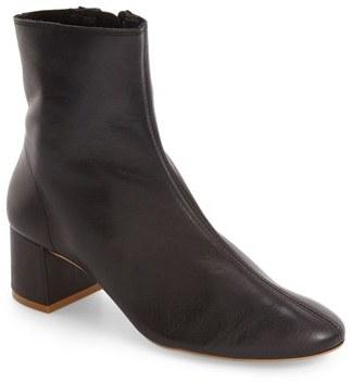 Topshop Mercury Block Heel Bootie (Women) $130 thestylecure.com