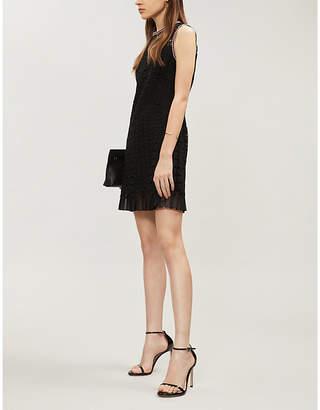 Sandro Openwork lace dress
