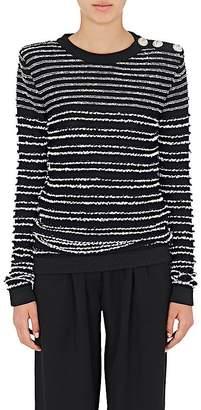 Balmain Women's Button-Embellished Sweater