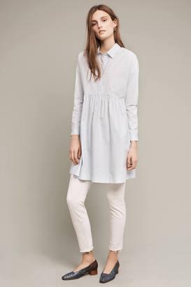 Maeve Printmaker Poplin Shirtdress $138 thestylecure.com