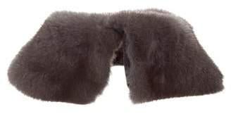 Yves Salomon Mink Fur Collar