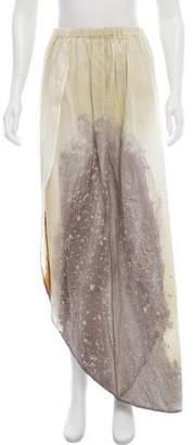 MM6 MAISON MARGIELA Distressed Maxi Skirt