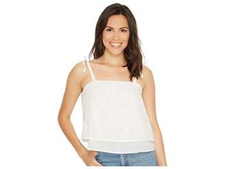 Lucky Brand Eyelet Tank Top Women's Clothing