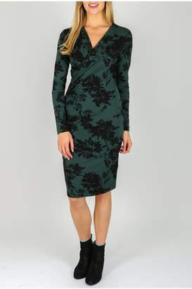 InWear Green Wrap Dress