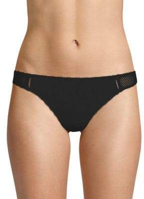 Stella McCartney Classic Perforated Thong