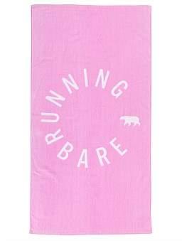 "Running Bare Sweat Sesh"" Gym Towel"