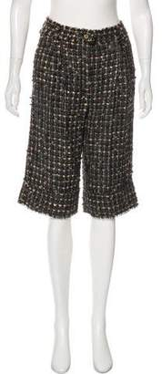 Dolce & Gabbana Wool Knee-Length Shorts w/ Tags