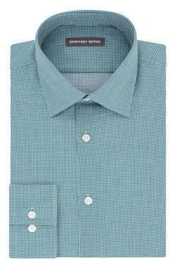 Geoffrey Beene Fitted Wrinkle-Free Dress Shirt