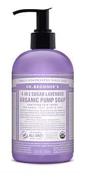 Dr. Bronner's Shikakai Hand And Body Soap 355Ml - Lavender