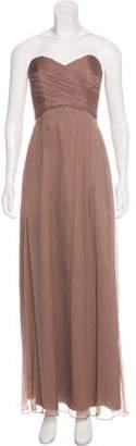 Amsale Structured Maxi Dress Structured Maxi Dress