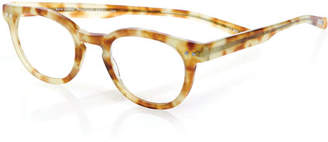 Eyebobs Waylaid Square Readers, Blonde Tortoise