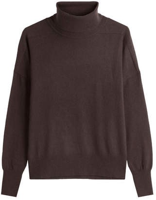 Closed Turtleneck Pullover with Wool and Cashmere