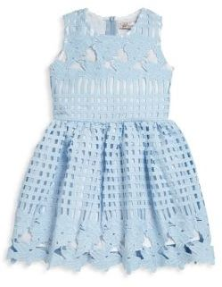 Halabaloo Toddler's & Little Girl's Lattice Party Dress $92 thestylecure.com