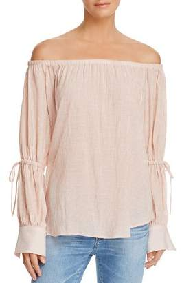 AG Jeans Talluah Off-the-Shoulder Top