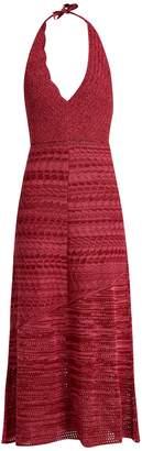 Rachel Comey Teddy crochet-cotton halterneck dress
