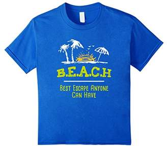 B.E.A.C.H Best Escape Anyone Can Have Ocean Surfing T-Shirt
