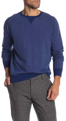 Brooks Brothers Crew Neck Print Pullover