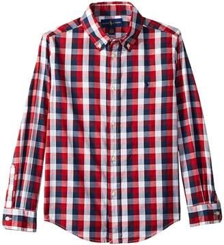 Polo Ralph Lauren Cotton Madras Shirt Boy's T Shirt