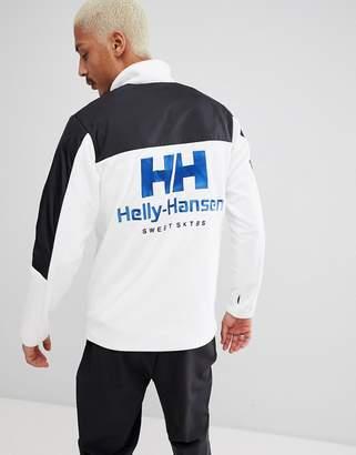 Helly Hansen Sweet Sktbs SWEET SKTBS x 1/4 Zip Jacket With Back Logo In Black