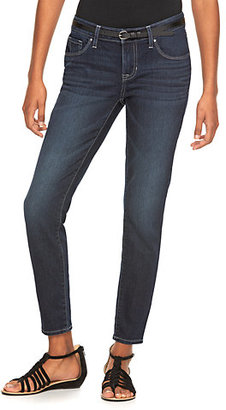 Women's Apt. 9® Curvy Fit Ankle Skinny Jeans $44 thestylecure.com