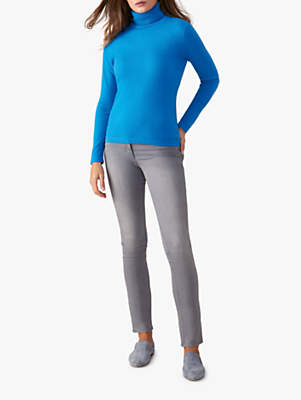 487212088 Pure Collection Cashmere Roll Neck Jumper