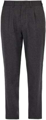 Altea Lincoln relaxed leg wool-blend trousers