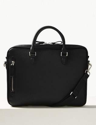 Marks and Spencer Textured Saffiano Slim Briefcase