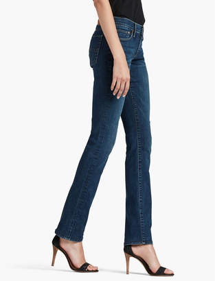 Lucky Brand SWEET MID RISE STRAIGHT LEG JEAN IN LUCKY BLUE