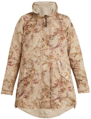 Woolrich Reversible palm-print shell jacket