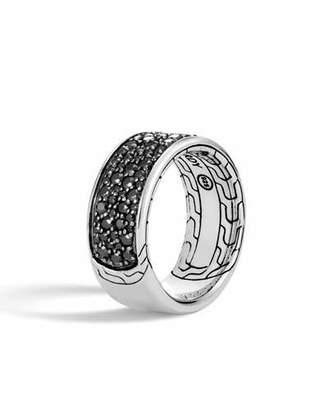 John Hardy Men's Classic Chain Sapphire & Spinel Ring