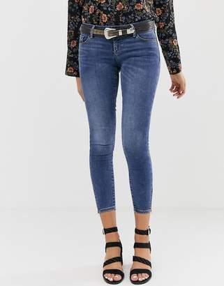 Vero Moda Washed Blue Skinny Jeeans
