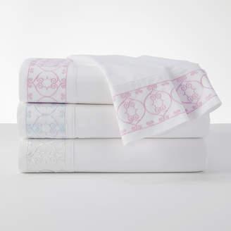 Dena Designs 100% Cotton Embroidered White Sheet Set