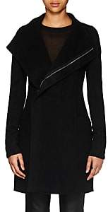 Rick Owens Women's Eileen Double-Faced Cashmere Coat - Black