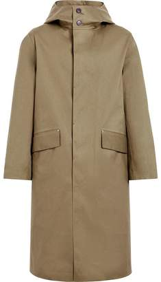 MACKINTOSH Khaki Bonded Cotton Hooded Riding Coat GR-102D